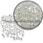 Small Edible Diamonds 3/8 Inch Diameter-224 per pkg.