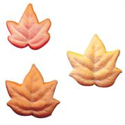 Lucks Fall Leaves Assortment Sugar Decorations