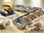USA Pan Strapped Mini Loaf Pan Set
