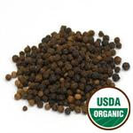 Organic Black Tellicherry Peppercorns 2.67 oz.