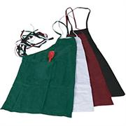 Winco Cotton/Poly Blend Bib Apron, 31 x 26 inch