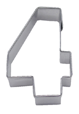 TBK Number 4  Cookie Cutter