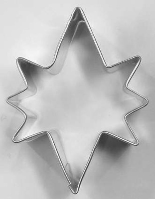 TBK Bethlehem Star  Cookie Cutter