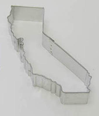 TBK State of California  Cookie Cutter