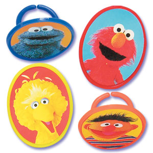 Bakery Crafts Sesame Street Picture Rings