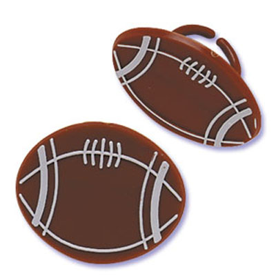 Bakery Crafts Football Rings