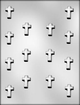 CK Products Small Cross Chocolate Candy Mold
