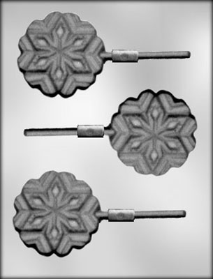 CK Products Snowflake Chocolate Sucker Mold