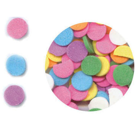 TBK Pastel Confetti (large) Shaped Sprinkles