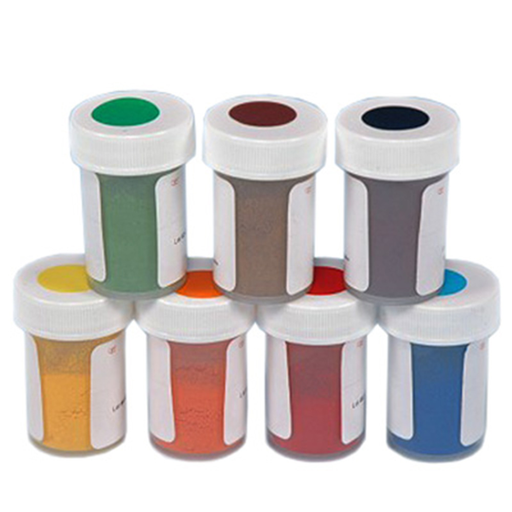 Powder Food Colors 3gr Jars