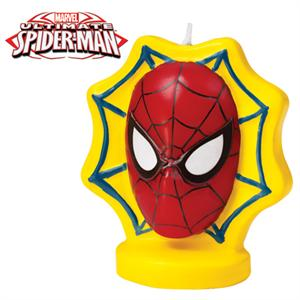 Wilton Spider-Man Ultimate Birthday Candle