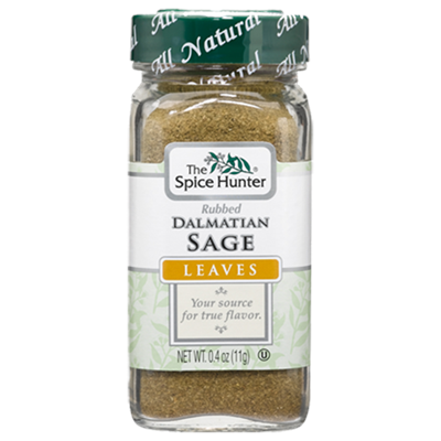 Spice Hunter Dalmatian Rubbed Sage .4 oz.