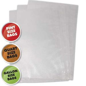 Weston Commercial Grade Vacuum Bags 50 Bag Variety Pack