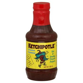 Ketch on Fire Ketchipolte Primo Ketchup, 18 Ounce