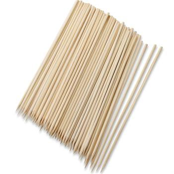 Harold Imports 8-Inch Wooden Bamboo Skewers, 100 Count