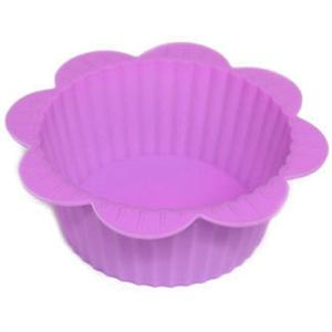 Ganz Purple Silicone Flower Cupcake Molds
