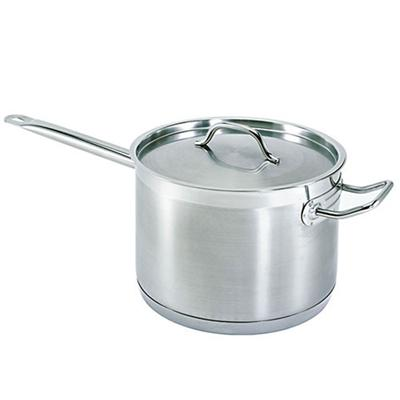Winco Stainless Steel 10 Qt Sauce Pan w/ Lid