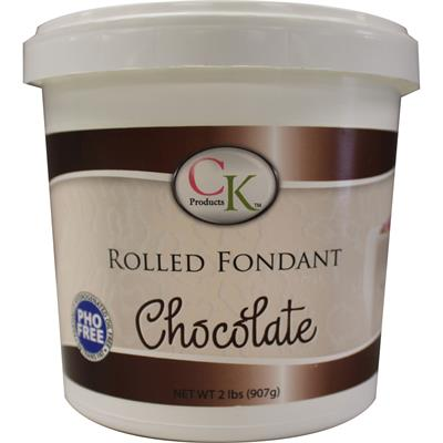 CK Products Chocolate Rolled Fondant 2 lb