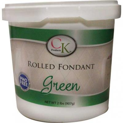 CK Products Green Rolled Fondant 2 lb
