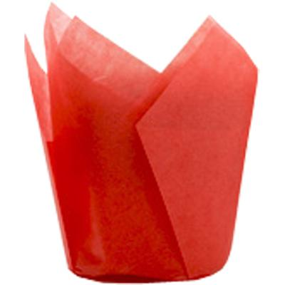 TBK Red Tulip Baking Cups