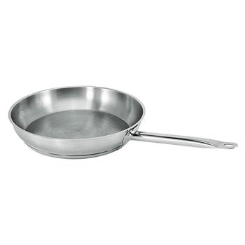 Winco Stainless Steel 9-1/2-in Fry Pan