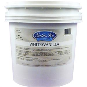 Satin Ice White Rolled Fondant 20 Lb