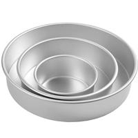 Wilton Decorator Preferred Round Pan Set, 3 Inch Deep
