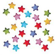 Lucks Rainbow Stars Charms Sugar Decorations
