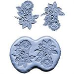 CK Products 3 Inch Flower Spray Silicone Mold