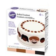 Wilton Rolled Fondant Natural Colors Multi-Pack