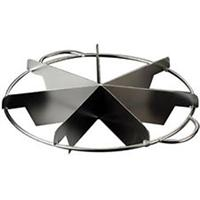 Winco 7 Slice Stainless Steel Pie Cutter
