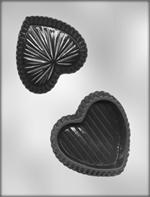 CK Products 4 Inch Heart Box Chocolate Mold