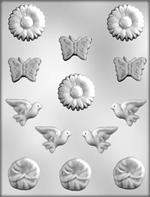 CK Products Butterflys And Doves Chocolate Mold