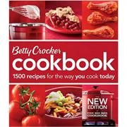Betty Crocker Cookbook: 1500 Recipes