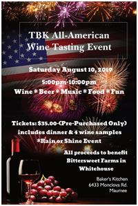 TBK Wine Tasting Benefit Event
