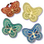 Bakery Crafts Butterfly Jewel Rings