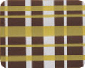 TBK Gold & White Plaid Transfer Sheet