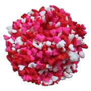 TBK Red, White And Pink Shaped Heart Sprinkles