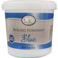 CK Products Blue Rolled Fondant 2 lb.