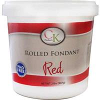 CK Products Red Rolled Fondant