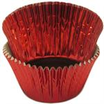 TBK Red Foil Mini #5 Baking & Candy Cup With Greaseproof Liner