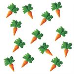 Lucks Carrots Sugar Decorations