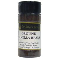 TBK Pure Ground Vanilla Beans 1.6oz Jar