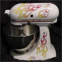 KitchenAid Mixer Flame Decal Kit