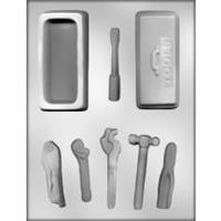 Tool Box with Tools Chocolate Mold 90-14664